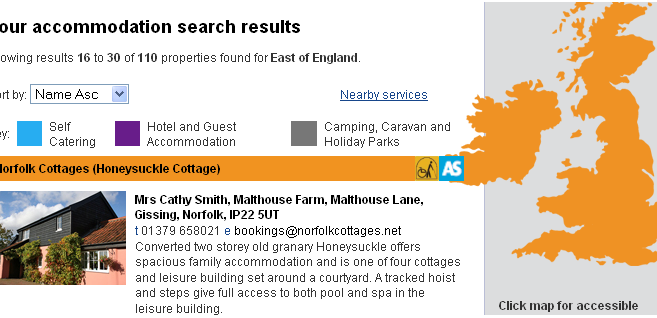 Property Search Engine for Travel Business