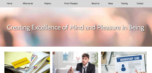 Web Design for Research Society